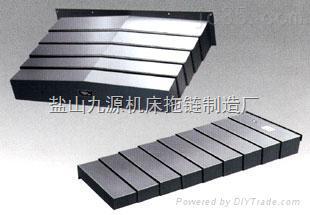荆州钢板导轨防护罩设计精湛,荆门机床钢板防护罩独家
