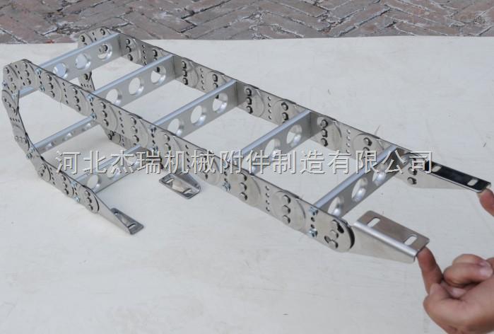 供应65穿线钢铝拖链