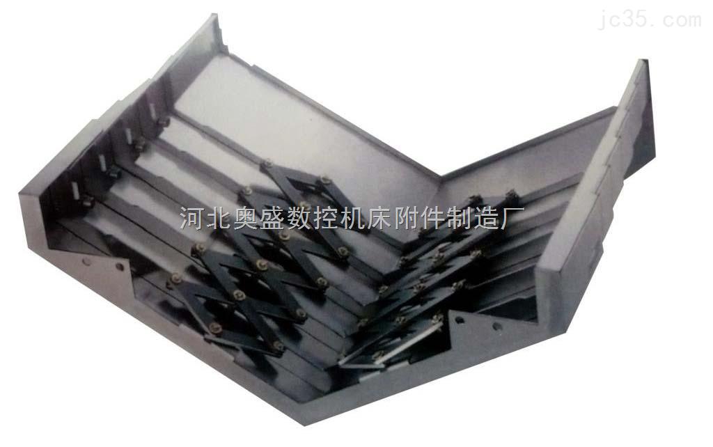 直销莱芜机床导轨防护罩 临沂钢板导轨防护罩