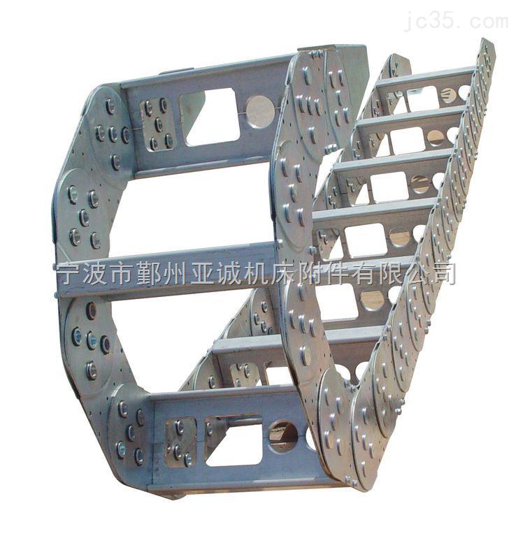 静音型电缆穿线钢铝拖链
