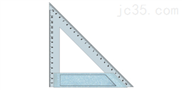 多用金属三角尺150-200mm(长城)