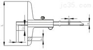 单钩深度游标卡尺0-150/0-1000(哈量)