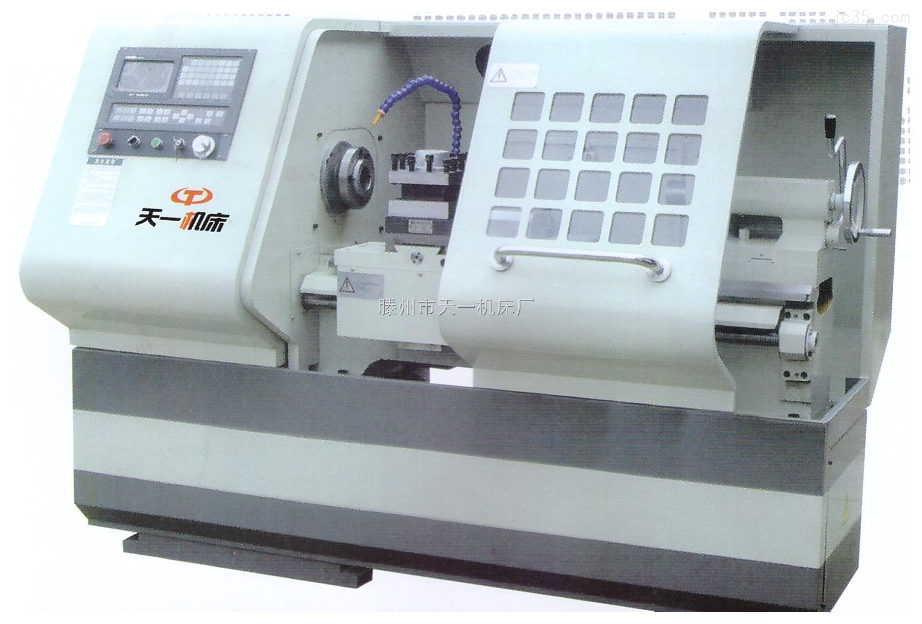 天一牌数控车床CK6136X750【高强度、高速度、伺服驱动】