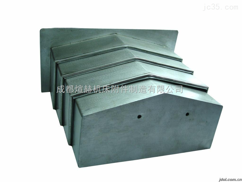 定做钢板防尘罩厂家产品图片