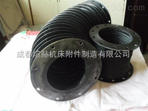 液压支柱波纹式丝杠防护罩产品图片