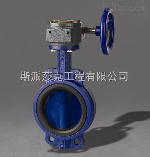 台湾荣牌铸钢空压机专用蝶阀