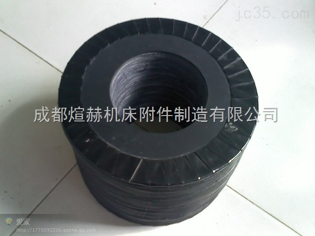 耐酸碱波纹伸缩圆形法兰式保护罩厂家产品图片