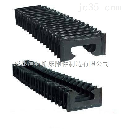 风琴式导轨防尘罩价格产品图片