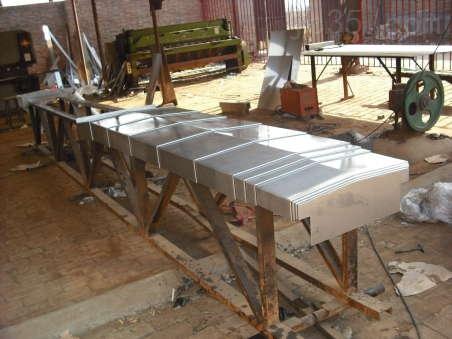靖江不锈钢板护罩 导轨护罩 ,信誉至上,供货及时,信守合同