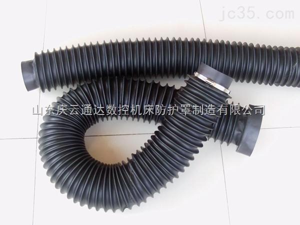 变径伸缩保护罩,丝杆波纹伸缩式软连接