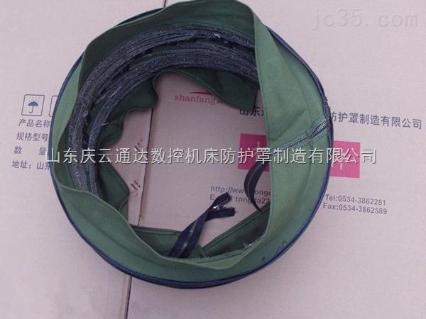 分开式油缸保护罩,丝杆伸缩式软连接