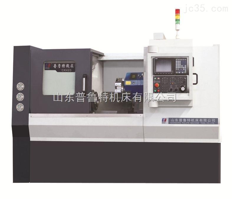 精密斜床身数控车床TCK520精度高普鲁特精机质量有保证