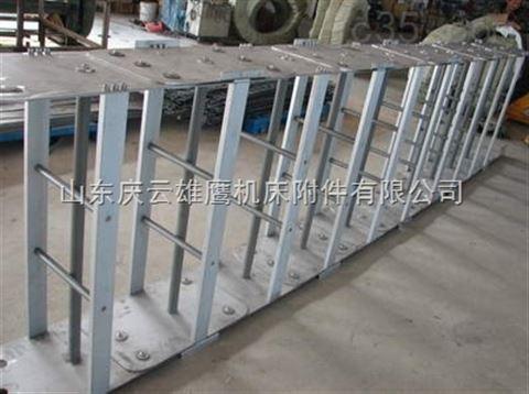 供应高密铸造机械专用钢制拖链,高密浇铸机钢制拖链