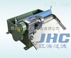 胶辊磁性分离器与纸带过滤机组合