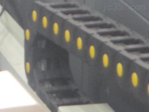 机床电缆牵引坦克链  机床线缆穿线拖链随时