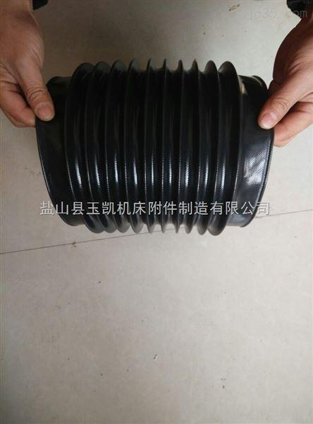 伸缩式丝杠防护套