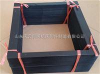 株洲伸缩帆布袋 帆布伸缩软连接 钢丝支撑方型风管
