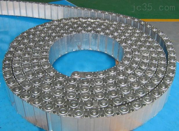 全封闭式穿线钢铝拖链