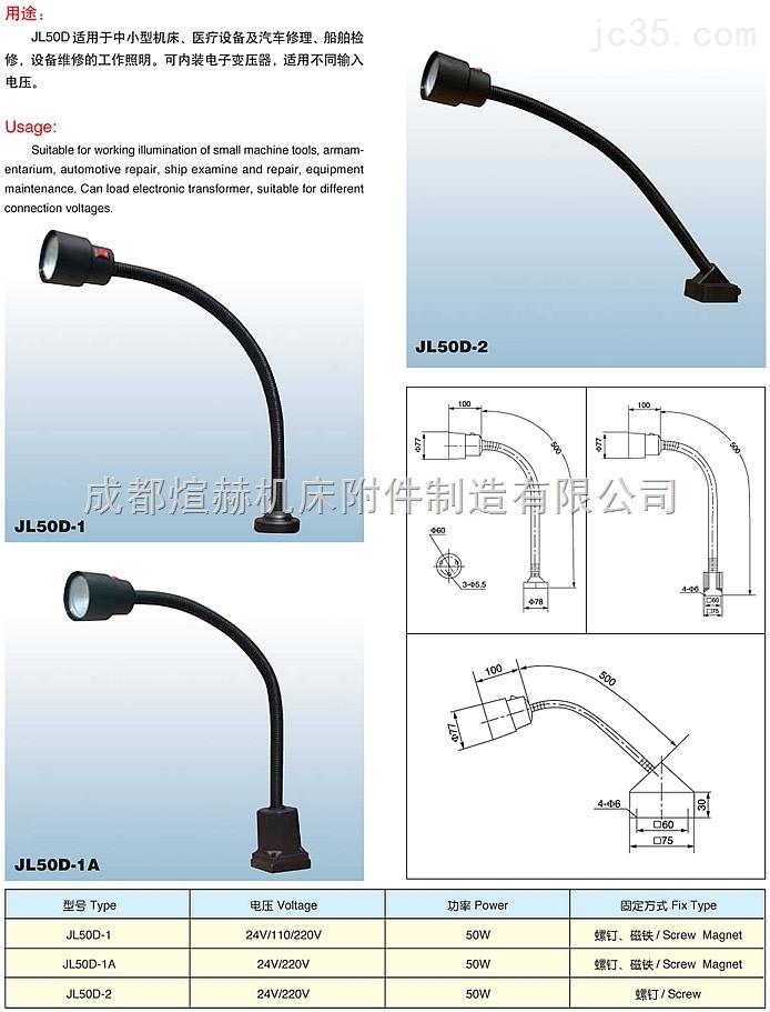各种车床照明灯24v  220vLED工作灯任您选产品图片