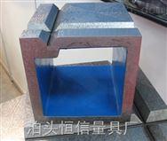 供应铸铁方箱铸铁方筒恒信铸铁方箱精度