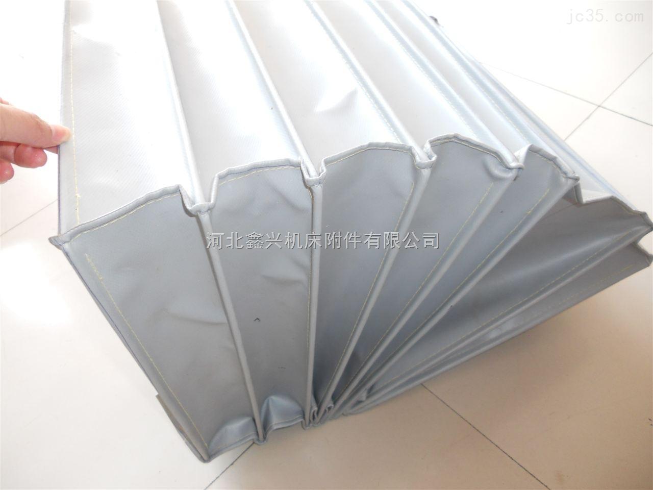 耐高温矩形灰色硅胶软连接