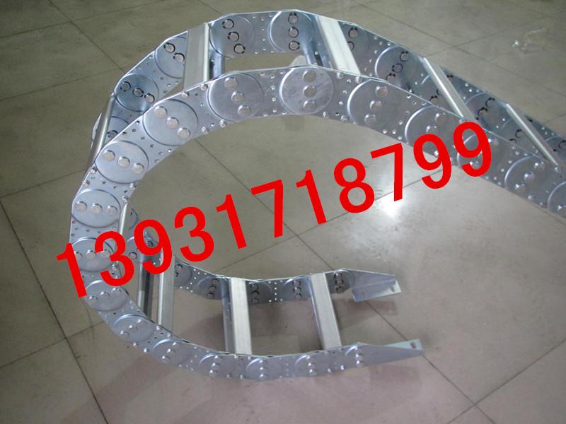 桥式机床钢铝拖链