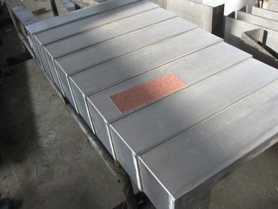 机床钣金防尘罩产品图