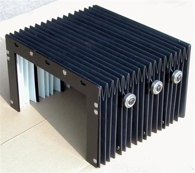 齐全柔性风琴式导轨防护罩产品图