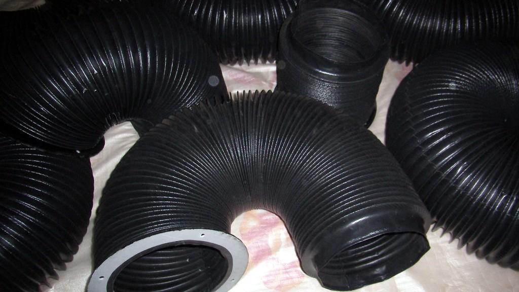 耐磨纯黑色圆形保护套产品图