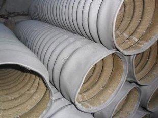 硅胶布耐温圆筒式防护罩产品图