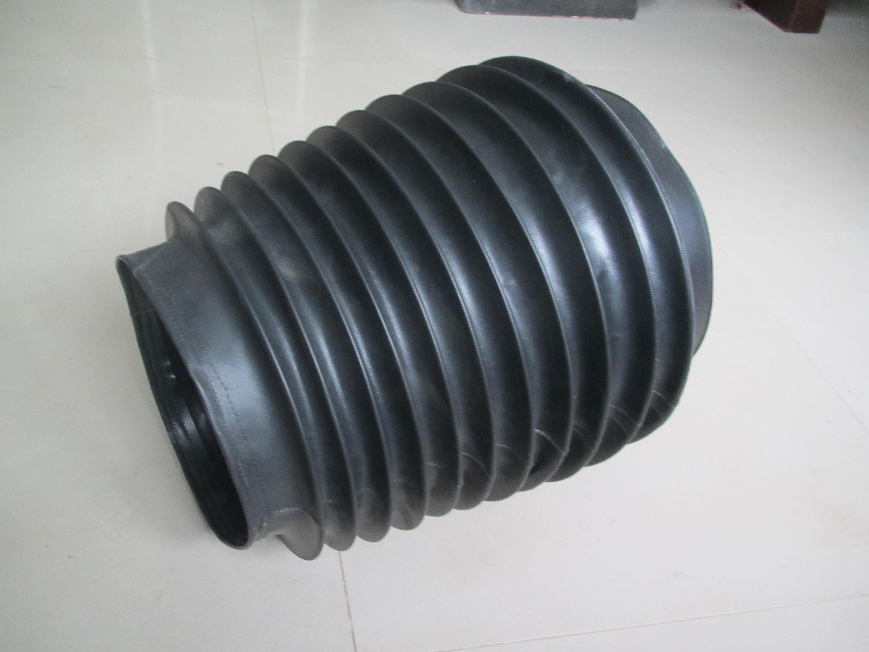 无锡矿山机械圆形防尘罩产品图