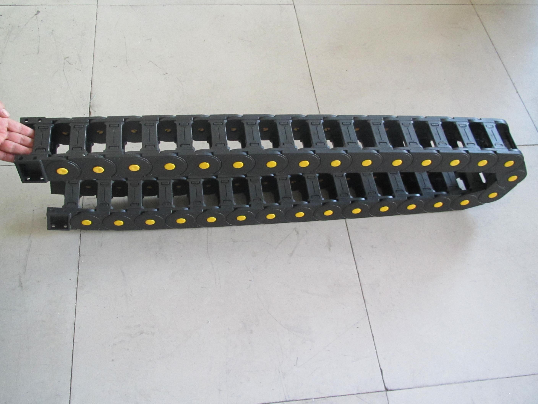 双排承重型塑料拖链产品图