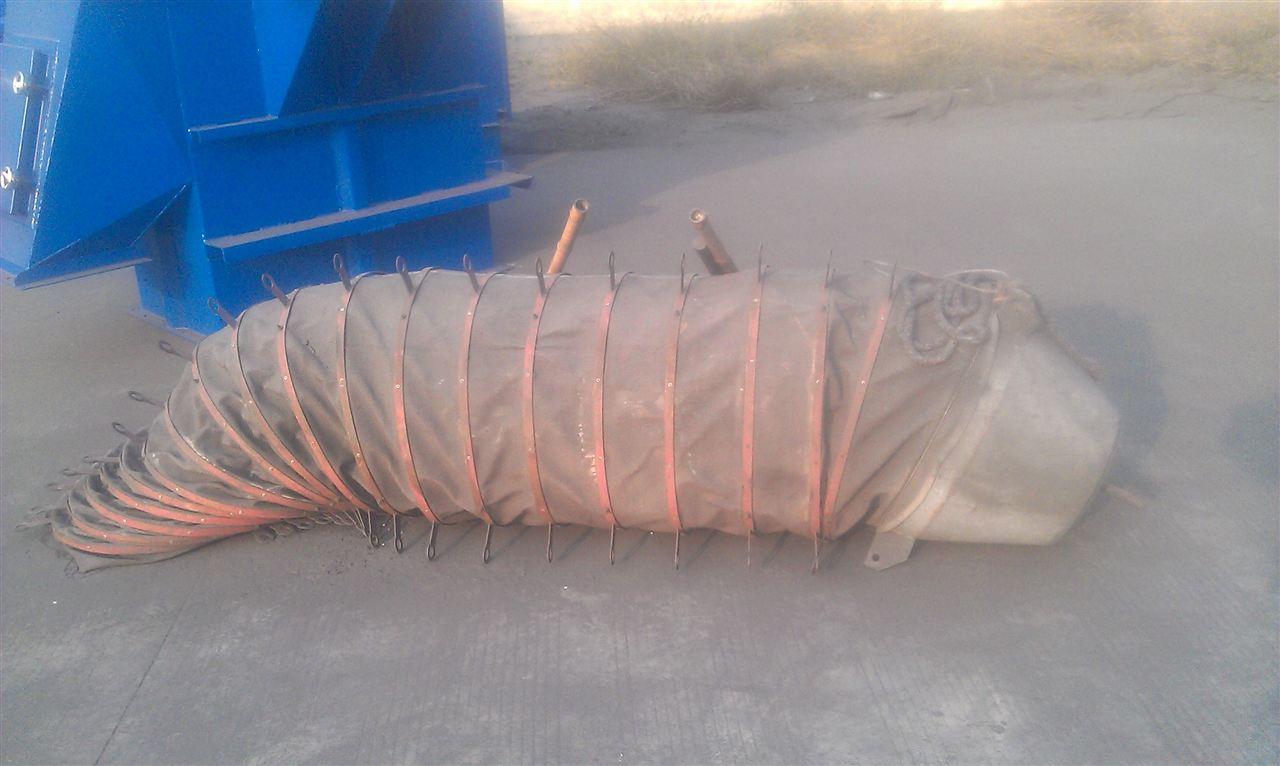 鞍山水泥厂散装输送布袋产品图